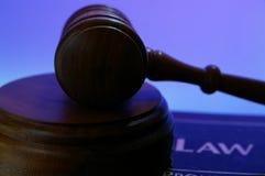 Materia de la ley Foto de archivo libre de regalías