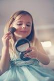 Materia de la muchacha Fotografía de archivo