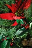 Materia de la Navidad Foto de archivo