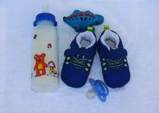 Materia del bebé aislada para el muchacho Foto de archivo libre de regalías