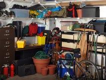 Materia del garage Immagini Stock