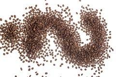 Materia di caffè fotografia stock libera da diritti