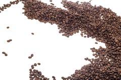Materia di caffè fotografia stock