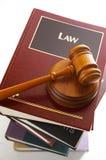 Materia di legge Immagini Stock Libere da Diritti