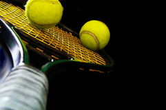 Materia di tennis Immagine Stock