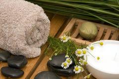 Materia di Wellness Fotografia Stock