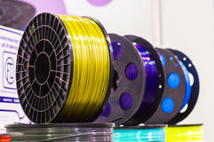 Materiał dla 3D druku Obrazy Stock