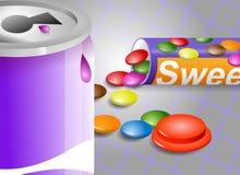 Materia dulce stock de ilustración