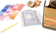 Materia per lo studio di disegno Fotografie Stock Libere da Diritti