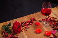 Materia preciosa para el día de tarjetas del día de San Valentín Fotografía de archivo