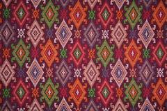 Materia textil étnica colorida Fotografía de archivo libre de regalías