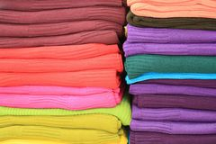 Materia textil Fotos de archivo