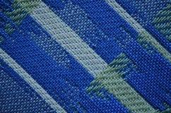 Materia textil coloreada texturizada fondo azulverde de la pintura Fotos de archivo libres de regalías