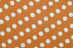 Materia textil con el ornamento de los círculos Foto de archivo libre de regalías