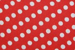 Materia textil con el ornamento de los círculos Imagenes de archivo