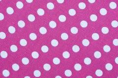 Materia textil con el ornamento de los círculos Imágenes de archivo libres de regalías