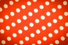 Materia textil con el ornamento de los círculos Fotografía de archivo libre de regalías