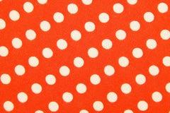 Materia textil con el ornamento de los círculos Foto de archivo