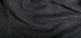 Materia textil de algodón gris Imagen de archivo