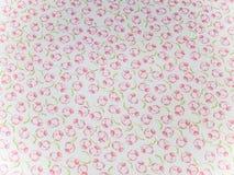 Materia textil de la flor Fotografía de archivo libre de regalías
