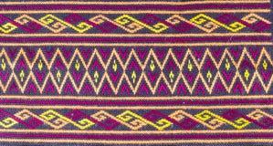 Materia textil de la tribu Imágenes de archivo libres de regalías
