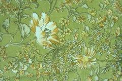 Materia textil de la vendimia foto de archivo libre de regalías