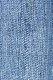 Materia textil de los tejanos Fotografía de archivo