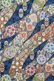 Materia textil de seda pura Imágenes de archivo libres de regalías