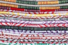 Materia textil de Swatch imagenes de archivo