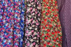 Materia textil del estampado de flores Imagenes de archivo