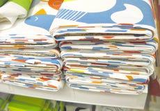 Materia textil del paño Imagen de archivo libre de regalías