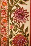 Materia textil floral. Imagen de archivo