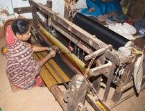 Materia textil india Fotografía de archivo libre de regalías