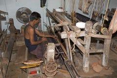 Materia textil india Imagen de archivo
