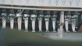 Materia textil: Máquina del bordado Equipo industrial del bordado metrajes