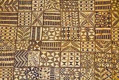 Materia textil maorí Imagen de archivo
