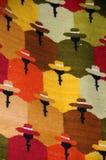 Materia textil peruana 1 Imagen de archivo libre de regalías