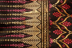 Materia textil popular tailandesa Imagenes de archivo