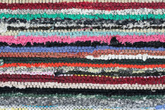 Materia textil rústica Fotografía de archivo