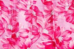 Materia textil retra colorida de la tapicería Fotos de archivo