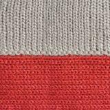 Materia textil roja y gris de la tela de las lanas foto de archivo libre de regalías