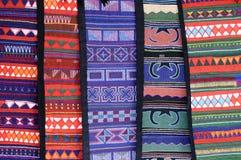Materia textil tailandesa Imágenes de archivo libres de regalías