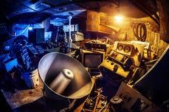 Materia vieja en el sótano Foto de archivo