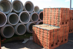 materiały budowlane Fotografia Stock