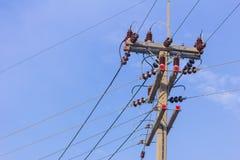 Materiaal in Elektriciteit wordt gebruikt die royalty-vrije stock fotografie