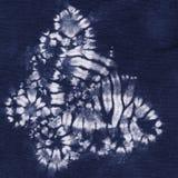 Materiaal geverfte batik vector illustratie