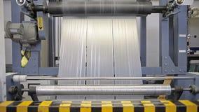 Materiaal op een fabriek stock videobeelden