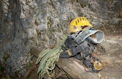 Materiaal steeplejack Royalty-vrije Stock Foto's
