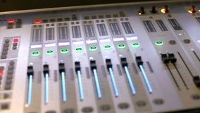 Materiaal voor audio en geluid stock videobeelden