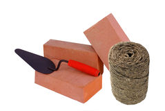 materiaal voor de bouw. Stock Afbeelding